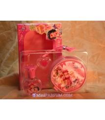 Coffret Princess edt + gloss + porte monnaie