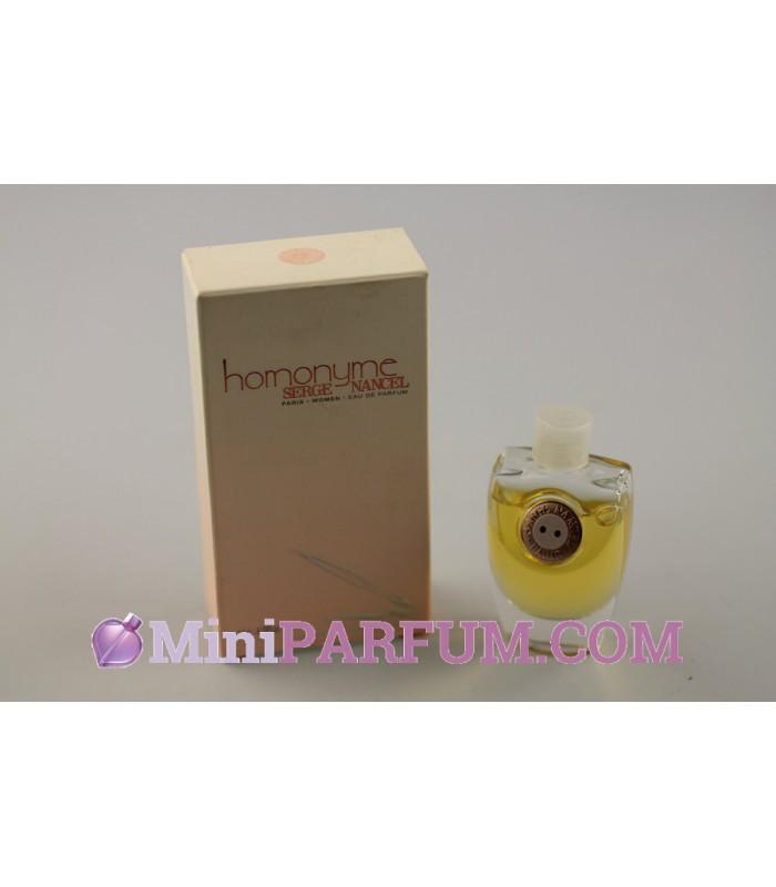 Homonyme - La cote Miniparfum
