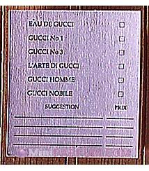 Carte de choix