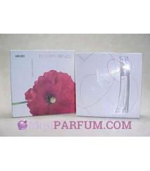 Bloc de cartes parfumées à écrire + Miniature Flower