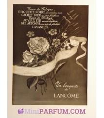Un bouquet de Lancôme *